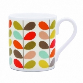 Multi Colour Ten Stem Mug