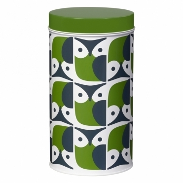 Owl Storage Tin Canister