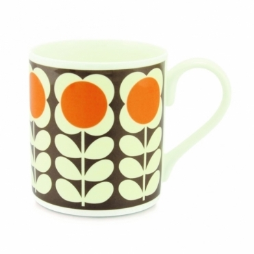 Poppy Stem Orange Mug