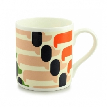 Sausage Dog Mug - Orange