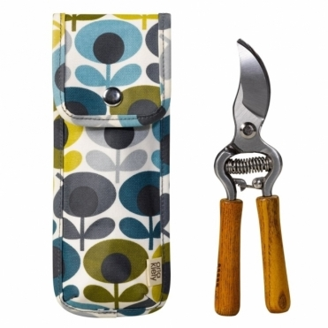 Secateurs in Multi Flower Oval Pouch