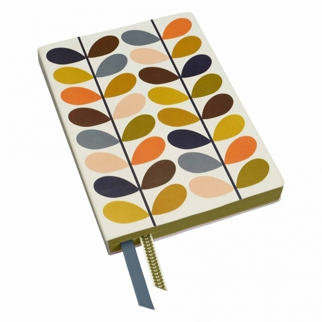 Orla Kiely Multi Stem A5 Notebook