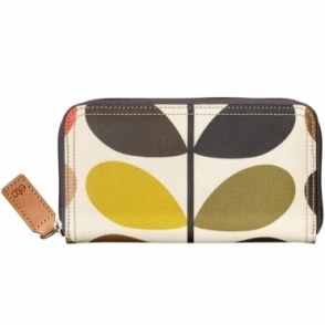 Multi Stem Big Zip Wallet Purse