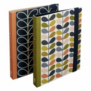 Orla Kiely Multi Stem & Linear Stem Ring Binders - Set of 2