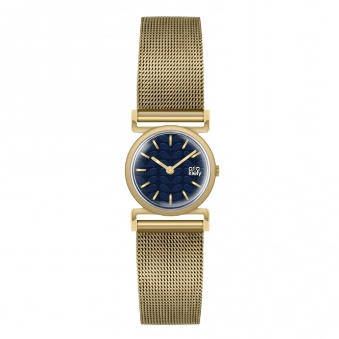 Orla Kiely Time Cecelia Gold Watch