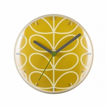 Linear Stem Wall Clock - Dandelion