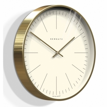 Oslo Gold Wall Clock - Marker Dial