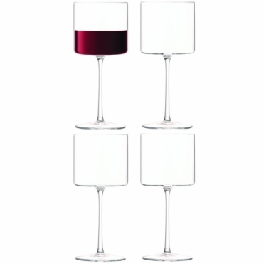 Otis Red Wine Glasses - Set of 4