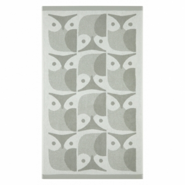 Owl Towels - Light Granite
