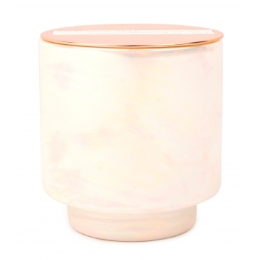 Iridescent Ceramic Scented Candle - Cotton & Teak