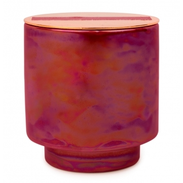 Iridescent Ceramic Scented Candle - Cranberry & Rose