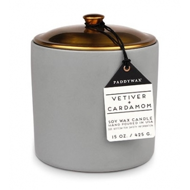 Ceramic & Copper Candle - Vetiver & Cardamom