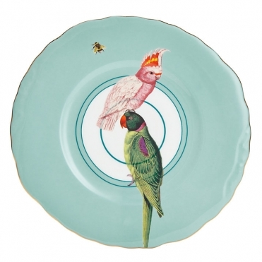 Parrot Cake Plate