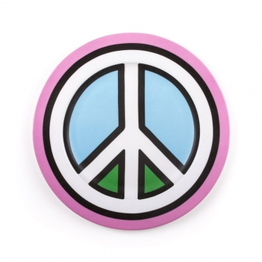 Peace Wall Art / Dinner Plate