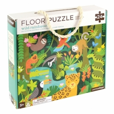 Floor Puzzle - Wild Rainforest