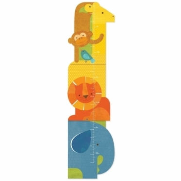 Growth Chart - Animal Tower