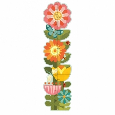 Growth Chart - Garden Flowers