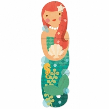 Growth Chart - Little Miss Mermaid