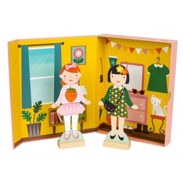 Magnetic Fashion Dress Up - Best Friends