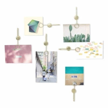 Phantom Multi Photoclip Display - Matte Brass