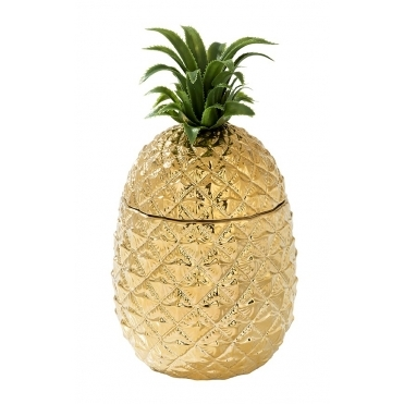 Pineapple Ice Bucket - Shiny Gold