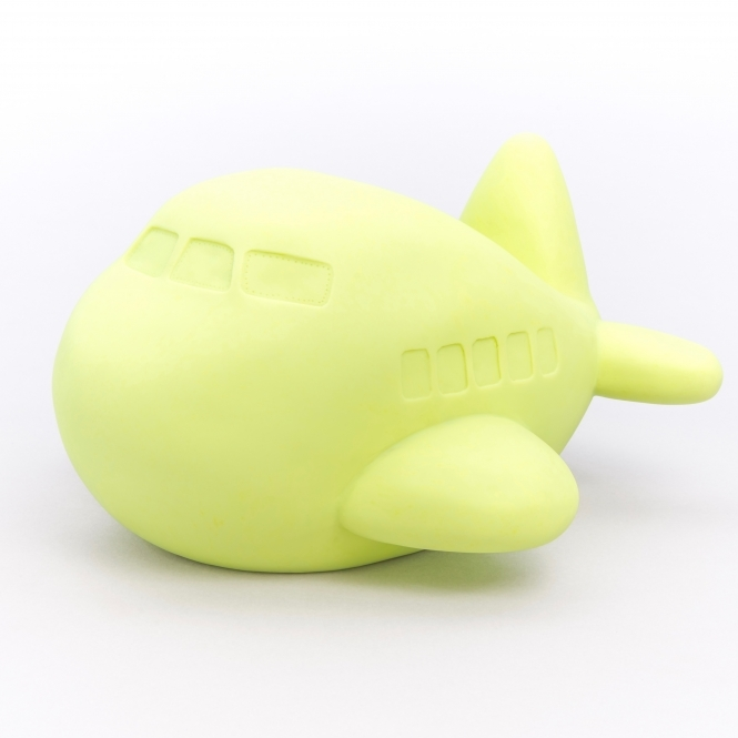 Plane Table Lamp / Night Light - Lime Green