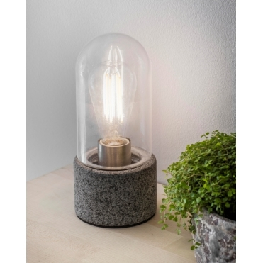 Portland Table Lamp Light - Granite