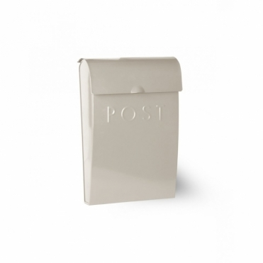 Post Box with Lock Clay