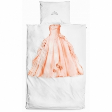 Princess Single Duvet Cover & Pillowcase Set - Pink