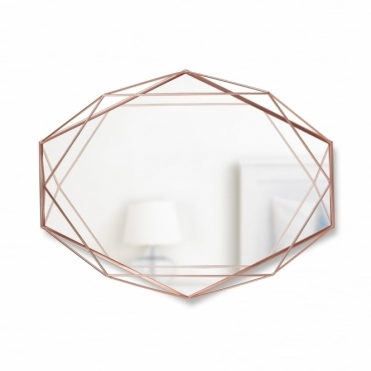 Prisma Wall Mirror - Copper