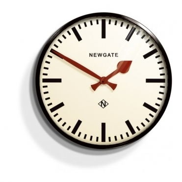 Putney Wall Clock Black