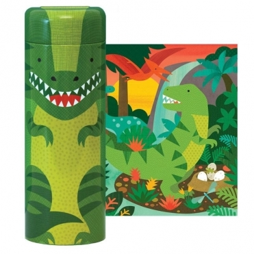 Puzzle & Coin Bank - Dinosaur