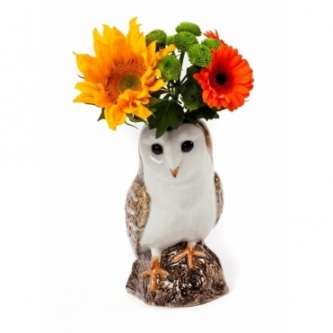 Barn Owl Flower Vase - Large