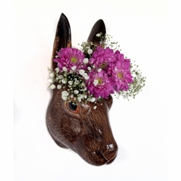 Hare Wall Vase