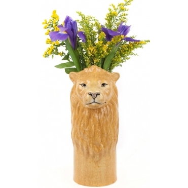 Lion Flower Vase - Large