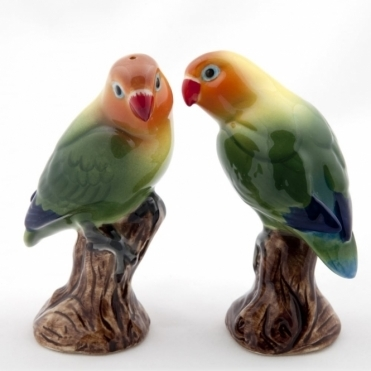 Love Birds Salt & Pepper Shakers - Orange