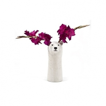 Polar Bear Flower Vase - Medium