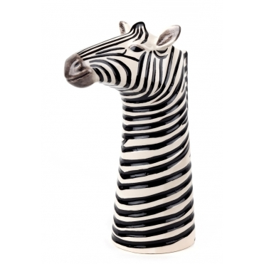 Zebra Flower Vase - Medium