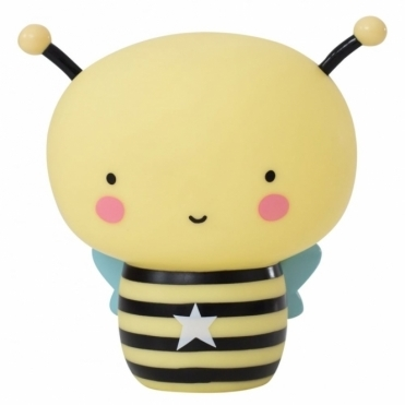 Rechargeable Night Light Table Lamp - Bee