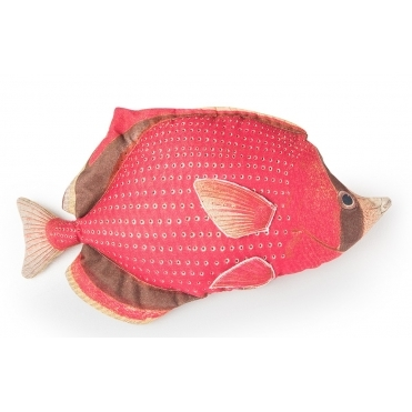 Red Fish Cushion - Large