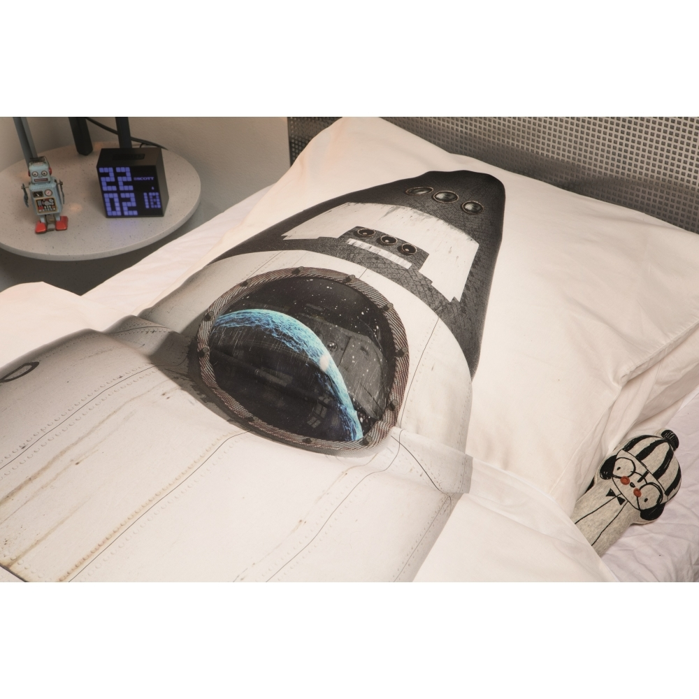 Rocket Dream Voyager Single Duvet Cover Pillowcase Set