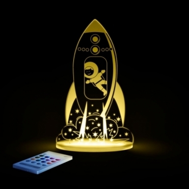 Rocket SleepyLight Colour Changing LED Night Light with Remote