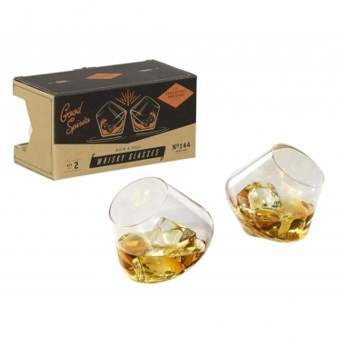Rocking Whisky Glasses - Set of 2