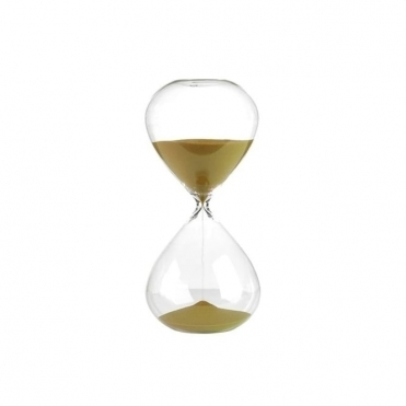 Sandglass Ball Timer Gold
