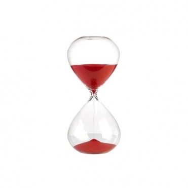 Sandglass Ball Timer Red