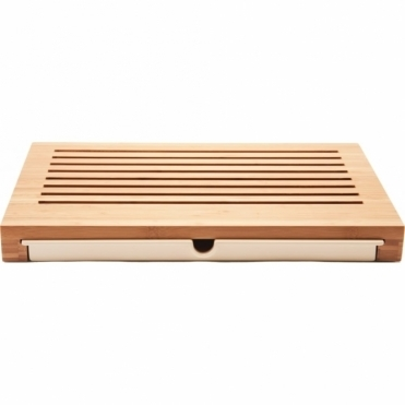 Sbriciola Bamboo Bread Board with Crumb Catcher GAG02