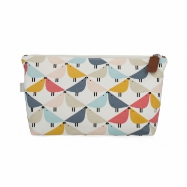Lintu Birds Cosmetic / Wash Bag - Large