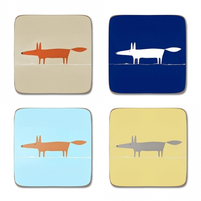 Scion Living Mr Fox Coasters - Set of 4