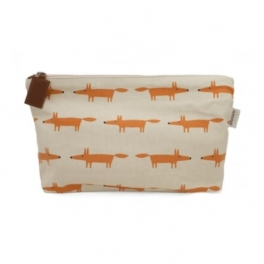 Mr Fox Cosmetic Bag - Large