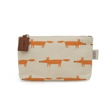 Mr Fox Cosmetic Bag - Medium